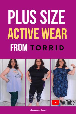 Torrid Plus Size Activewear