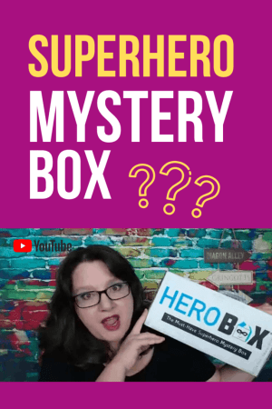Superhero Box Unboxing