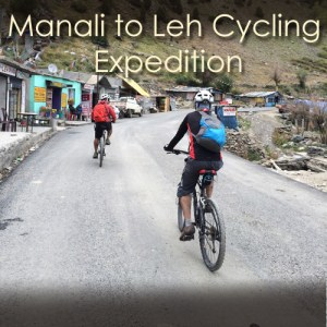 Manali-Leh Cycling