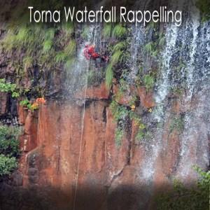 Torna Waterfall Rappelling
