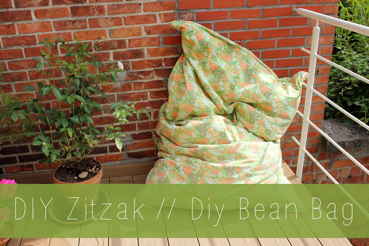 DIY Bean Bag // DIY Zitzak