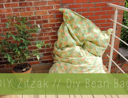 DIY Beanbag // DIY Zitzak