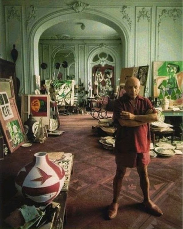 The Workspace of Pablo Picasso