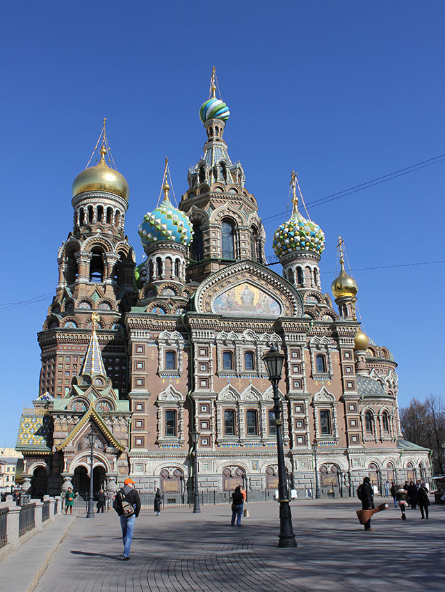 Sint-Petersburg's Church of the Savior on Blood