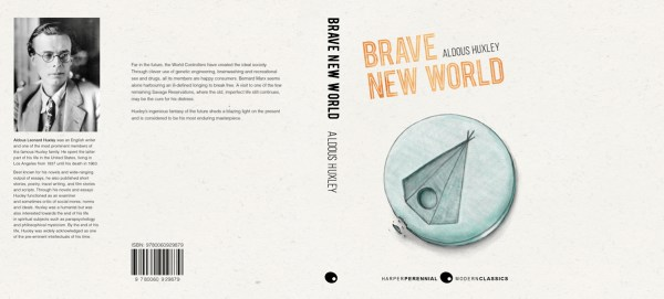 Bookcover design - Brave New World