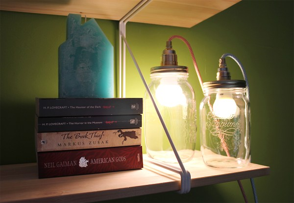 DIY Jar Lamp