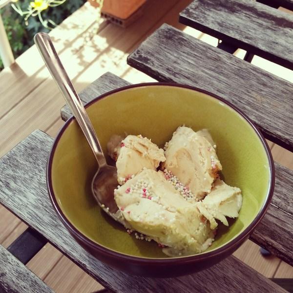 Last week - Homemade ice cream