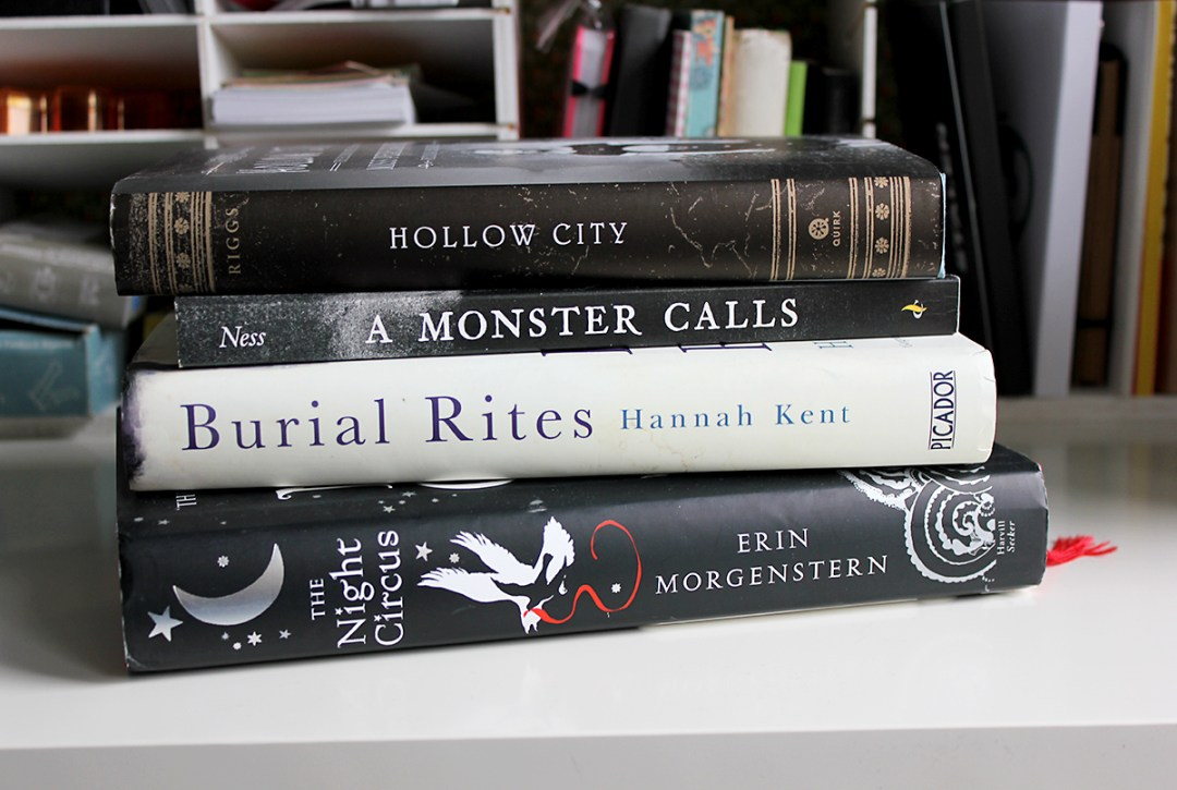 Eight books I really want to read this year (of which four are pictured here)