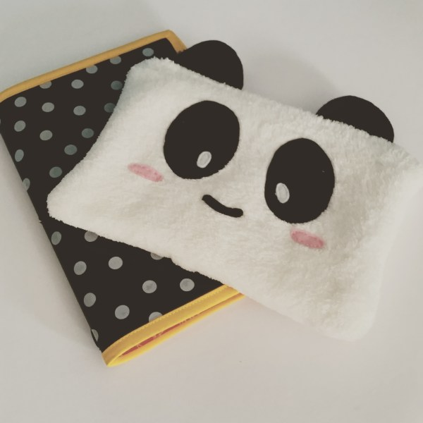 Last Week - Handmade notebooks and panda-pencil case