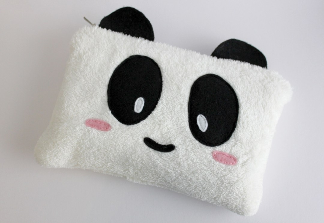 How to make a DIY Panda Pencil Case