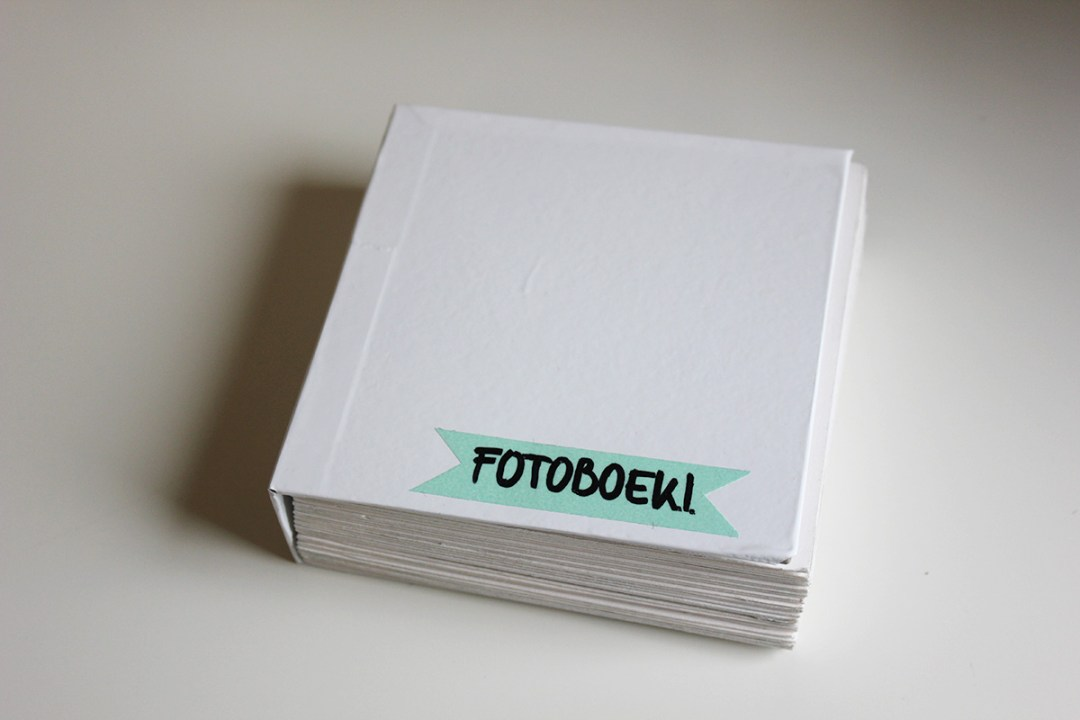 The finished Instagram photo book