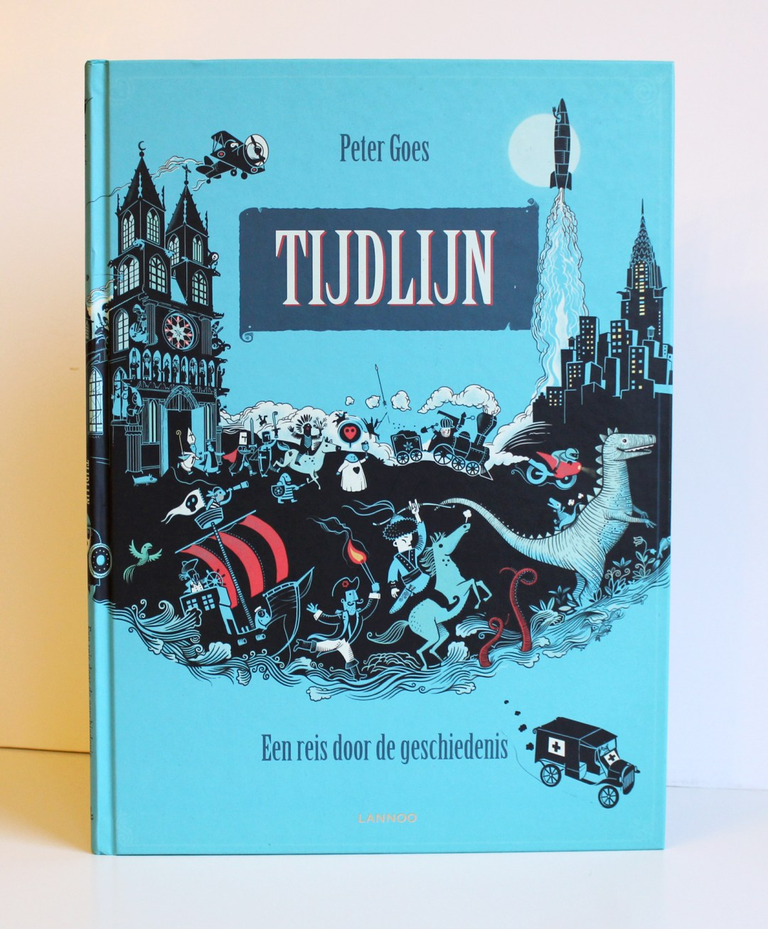 Winter book haul - Tijdlijn / Timeline by Peter Goes