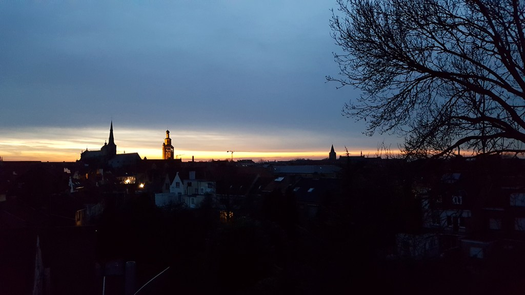 Rooftop party part II - A view over Bruges