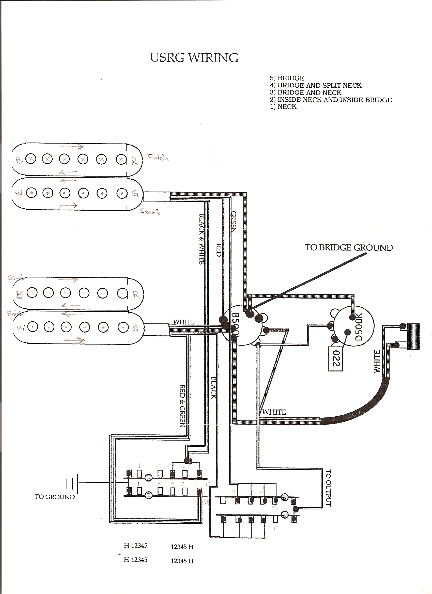 Usrg30 Wiring Diagram