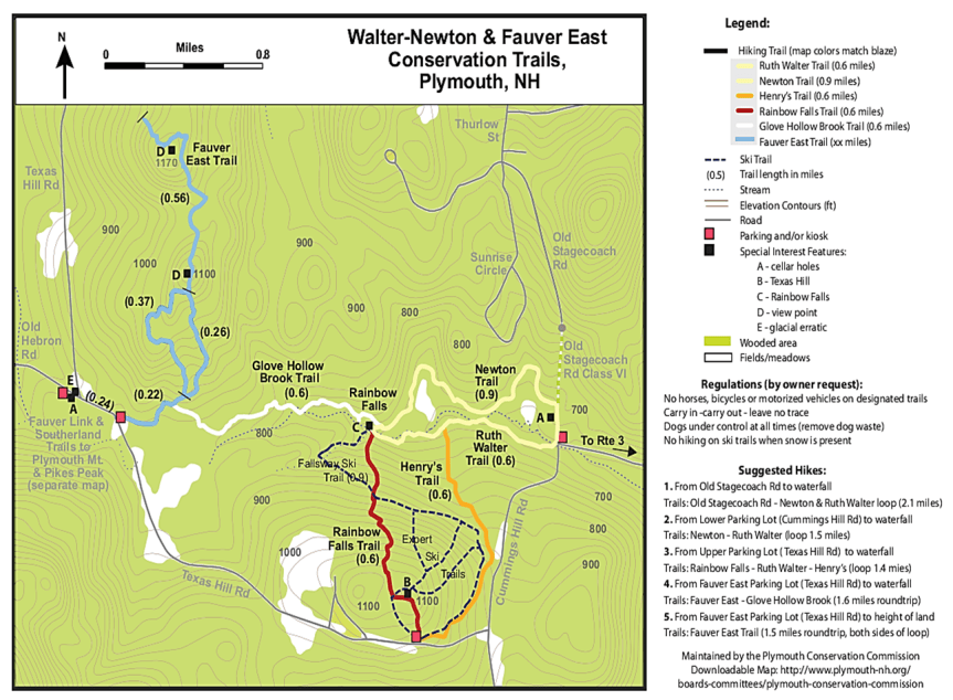 Walter Conservation Area Full Map