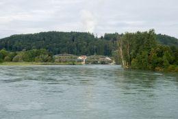 Koblenz-Rhein mit Aarebrücke