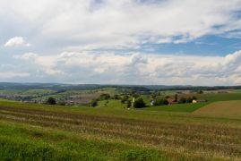 Schleitheim - Gewitterwolken über dem Badischen