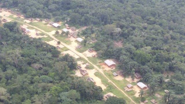 Itipo village in DRC