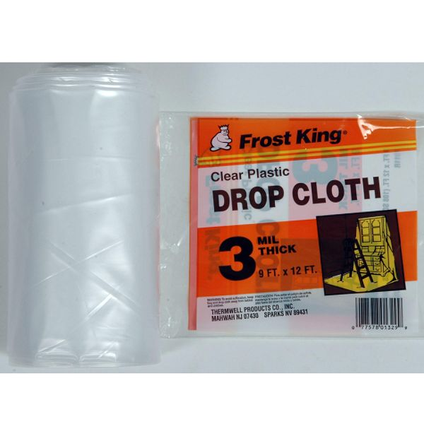 a slight is that the drop cloths do not breathe at all and can build up underneath over the course of a night