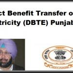 Direct Benefit Transfer of Electricity (DBTE) Punjab
