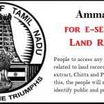 Amma App Download for e-service of Land Records in Tamil Nadu