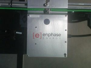 Installed Enphase micro-inverter