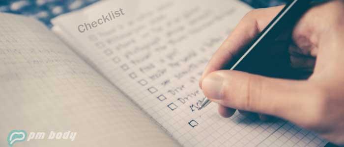 pmp exam readiness checklist