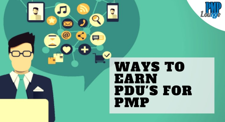 ways to earn pdu - Ways to earn PDUs for PMP