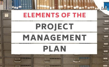 elements of the project management plan 1 - Elements of the Project Management Plan