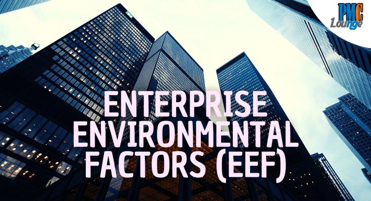 enterprise environmental factors eef - Enterprise Environmental Factors (EEF)