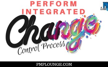 perform integration change control process - Overview of the Perform Integrated Change Control Process