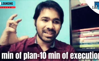 a minute in planning is equal to 10 minutes in execution - A Minute in Planning can save 10 Minutes in Execution!
