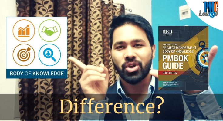 difference between pmbok and pmbok guide - What is the difference between PMBOK and PMBOK Guide?