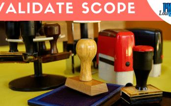 validate scope process pmp 1 - Validate Scope Process