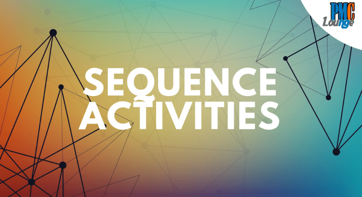 sequence activities process of schedule management - Sequence Activities Process