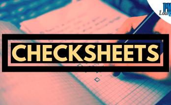 checksheets
