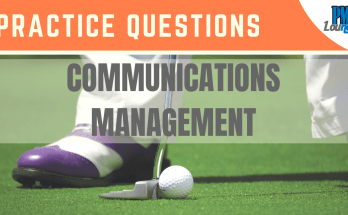 communications management Practice Questions - Communications Management – Practice Questions