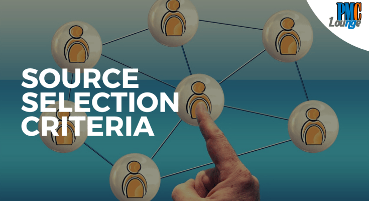 source selection criteria - Source Selection Criteria