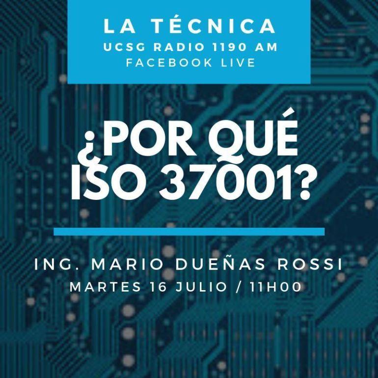 ¿Porqué ISO 37001?