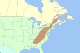 Appalachian Mountains - usa