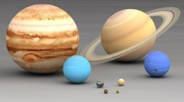 Solar System – Planets – Outer Planets