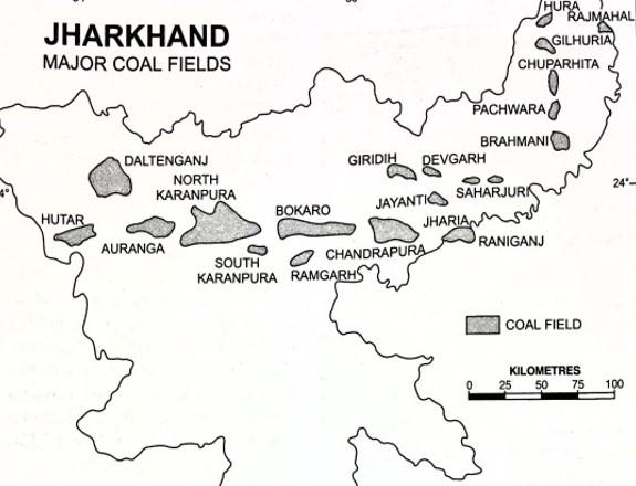 Gondwana Coalfields in Jharkhand