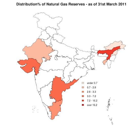 Natural Gas Distribution: India & World | PMF IAS