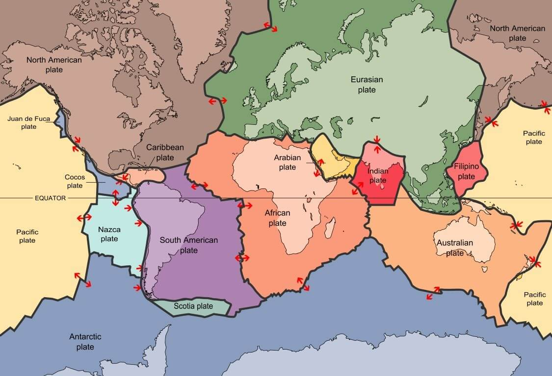 Plate Tectonics Vs Continental Drift And See Floor