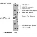 737 speed tape indications