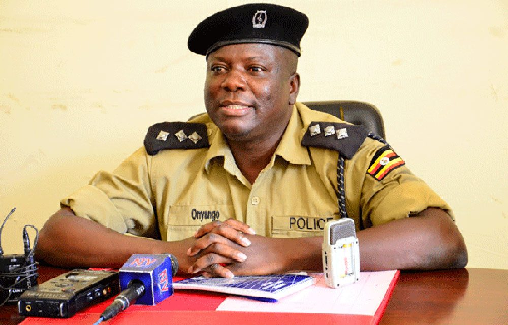 Police shoots Lowena Nkya Racheal on the Mouth - Uganda