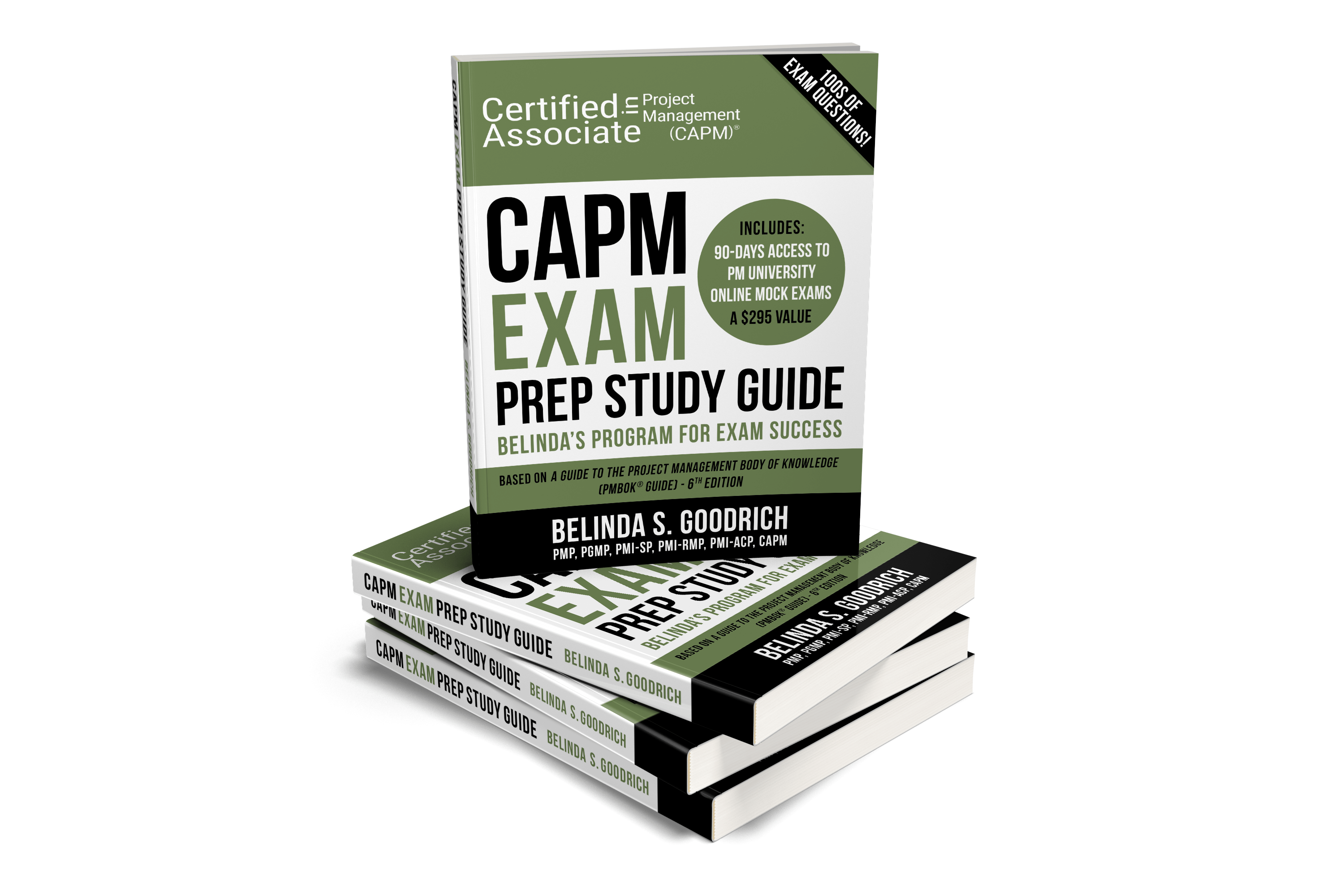 CAPM Exam Book Cover- Mockup