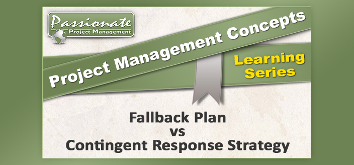 Fallback Plan vs Contingent Response Strategy