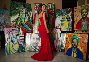Interview with a highly skilled painter Gilda Garza