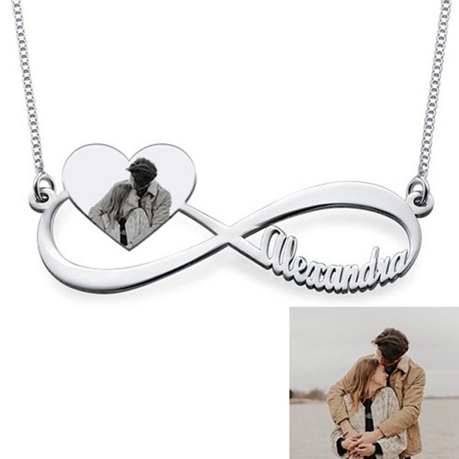 photo necklace